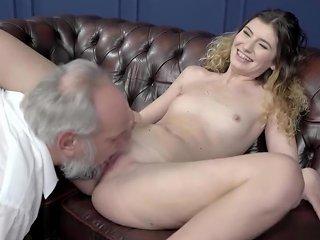 Candice Fucks Old Man And Swallows Cum Hdzog Free Xxx Hd High Quality Sex Tube